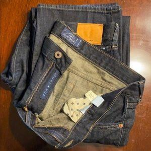 Men's Lucky Brand dark jeans